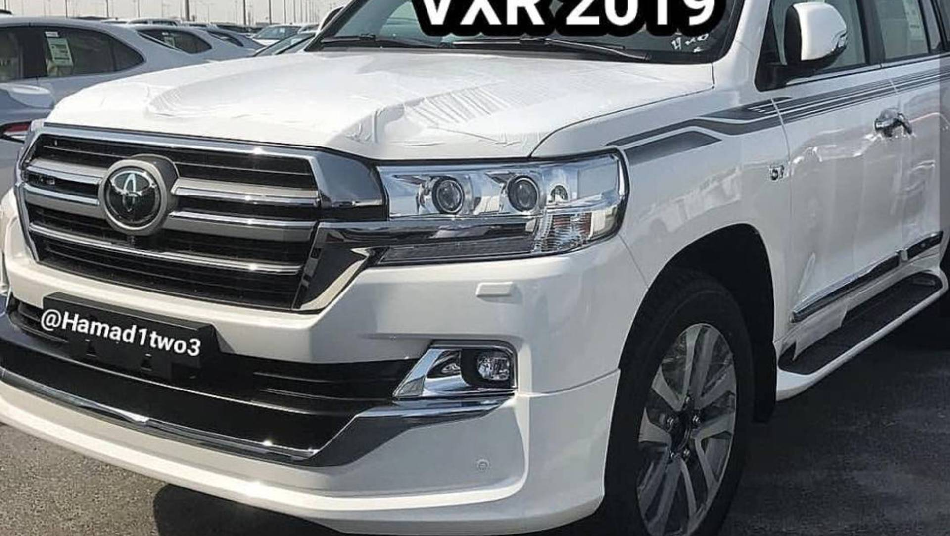 2019 Toyota Land Cruiser And 2019 Lexus Lx 570 Black Edition S