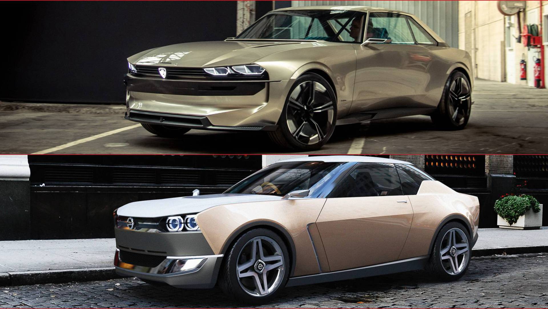 Peugeot E Legend And Nissan Idx Freeflow Do They Really Look So