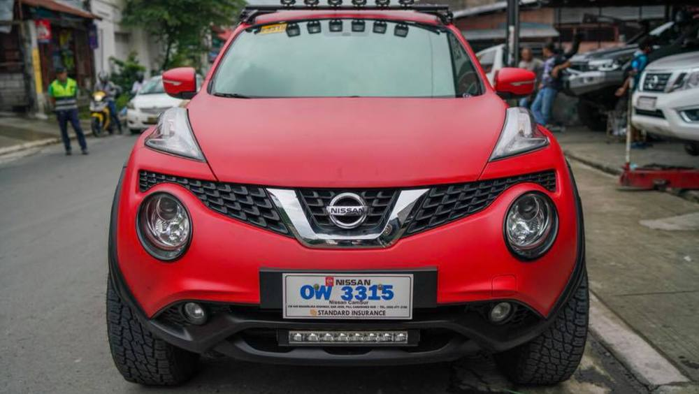nissan juke transformed into a cute little off-road monster | auto