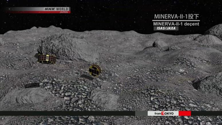 Hayabusa2's rovers successfully land on asteroid
