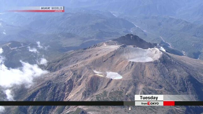 Mt. Ontake summit route to reopen next week