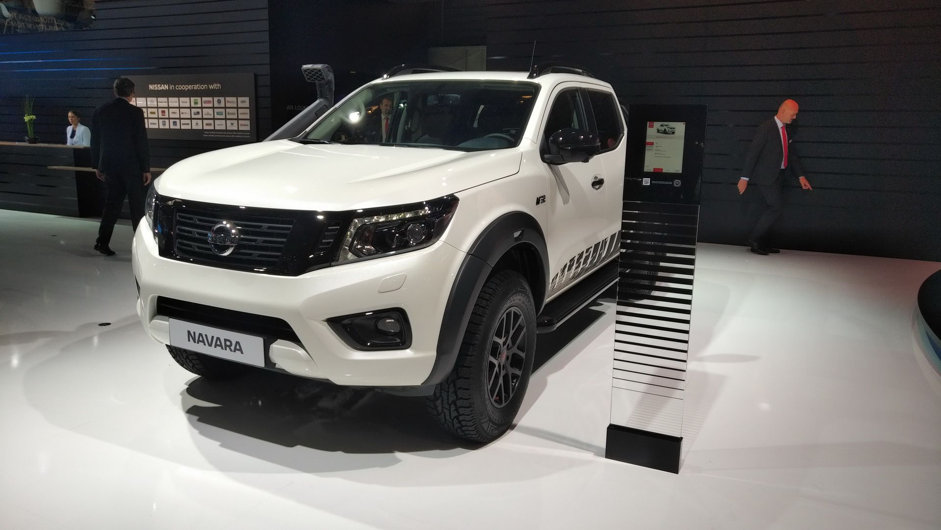 Nissan Navara N Guard Touches Down In Hannover Wearing