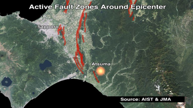 Seismologist: active fault near epicenter
