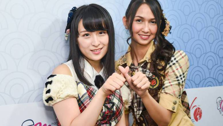 AKB48's Kawamoto Saya & JKT48's Stephanie Pricilla Indarto Putr to collaborate for exchange program