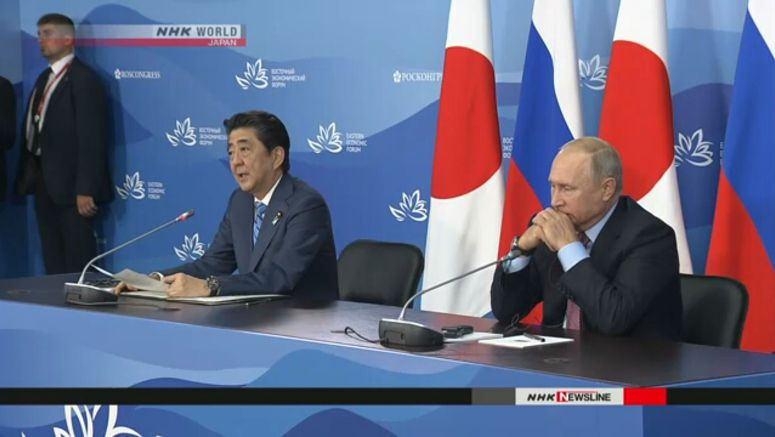 Abe, Putin agree on economic projects