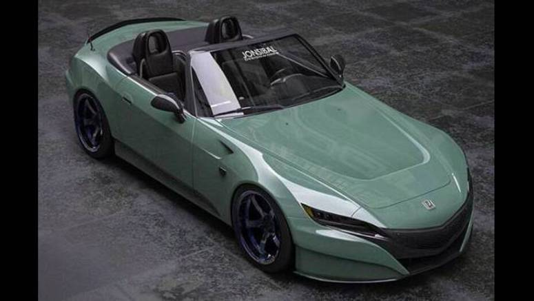 2020 Honda S2000 Study With NSX-Inspired Face Is Just Perfect