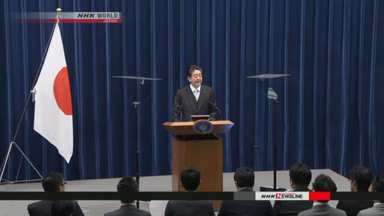 Abe aims to submit amendment proposals