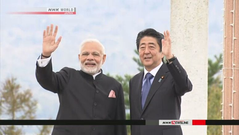 Abe, Modi agree on further cooperation