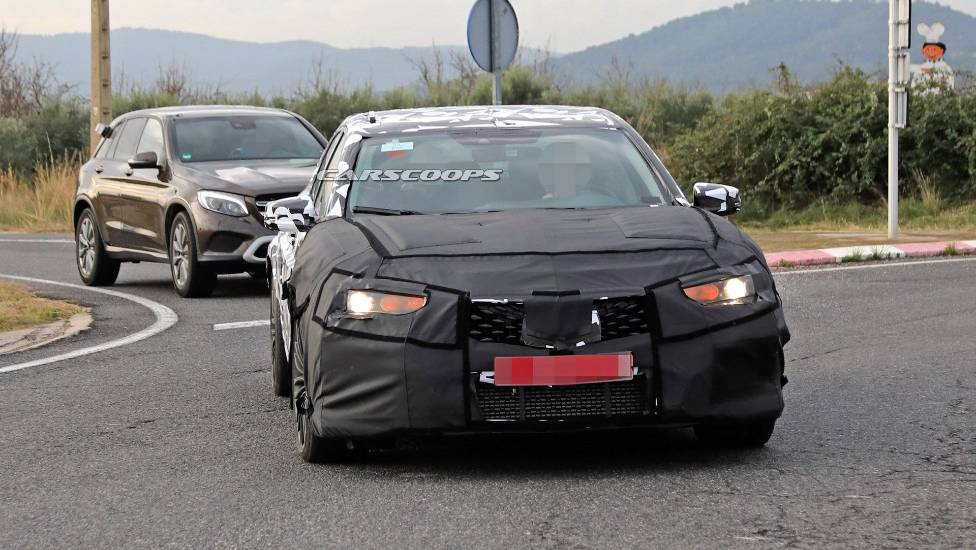2020 Acura Tlx Type S Spotted Testing Against S4 Amg C43