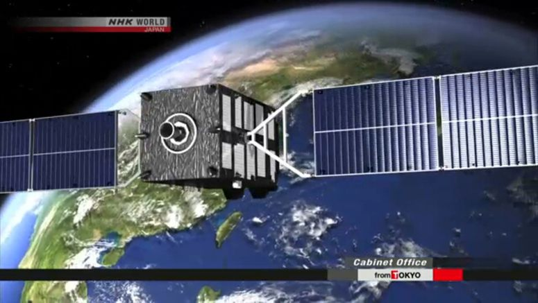 Japan starts new satellite positioning system