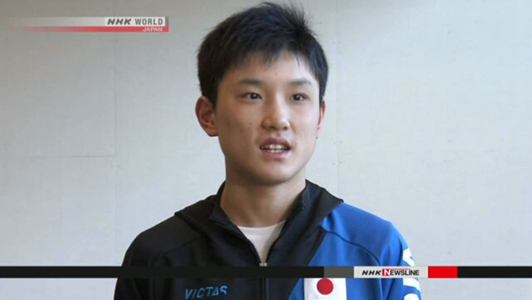 Japanese table tennis players return victorious