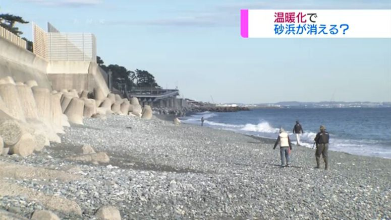 Researchers: 60% of Japan's beaches may disappear
