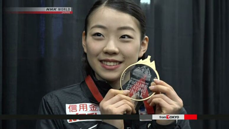 Skater Kihira joyful after Grand Prix Final win