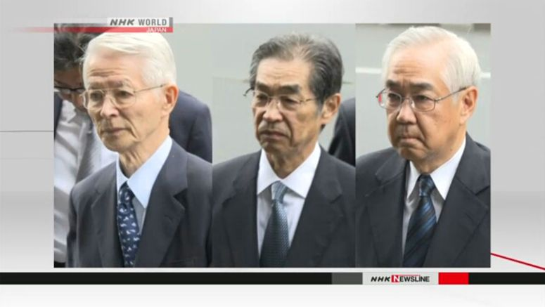 Five-year sentences sought for ex-TEPCO execs