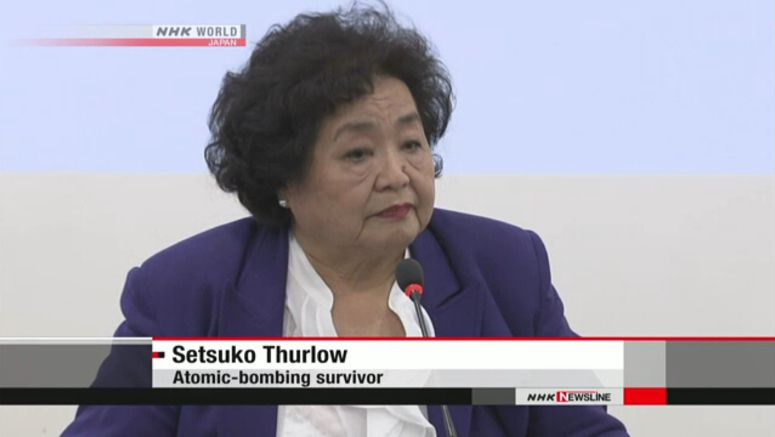 Thurlow: Japan should join nuclear arms ban treaty