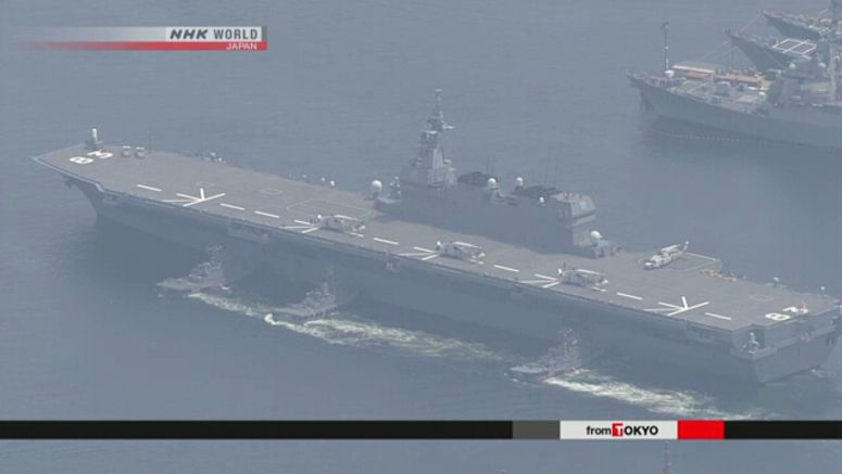 Defense guidelines to call for carrier function