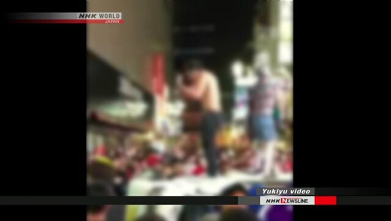 Police to arrest Shibuya Halloween hooligans