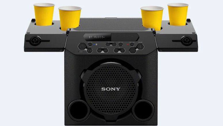 Sony Unveils An Outdoor Speaker With Cupholders