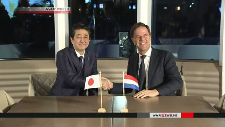 Japan, Netherlands to work on global issues