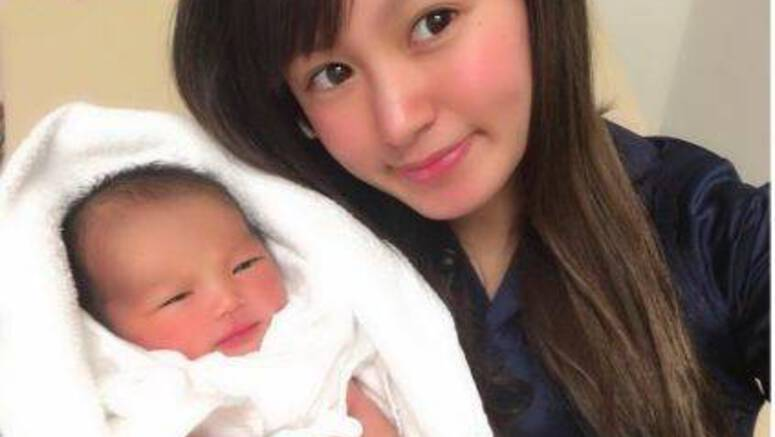 Former NMB48's Terui Honoka gives birth to first child