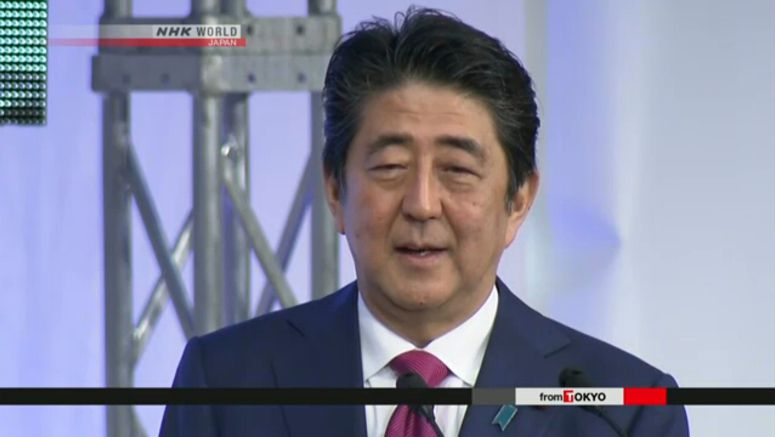 Abe set on constitutional reform in coming year
