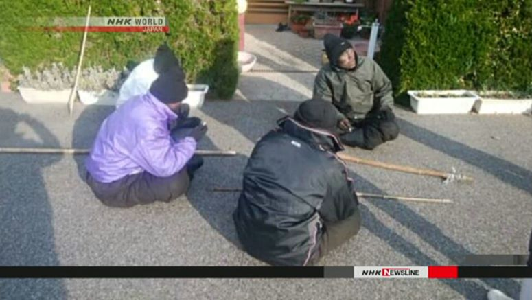 Four men found in Shimane to return to N.Korea