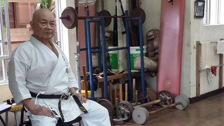 Old-school karate still alive in Okinawa