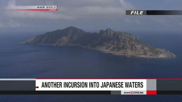 Chinese ships enter Japan's waters off Senkakus