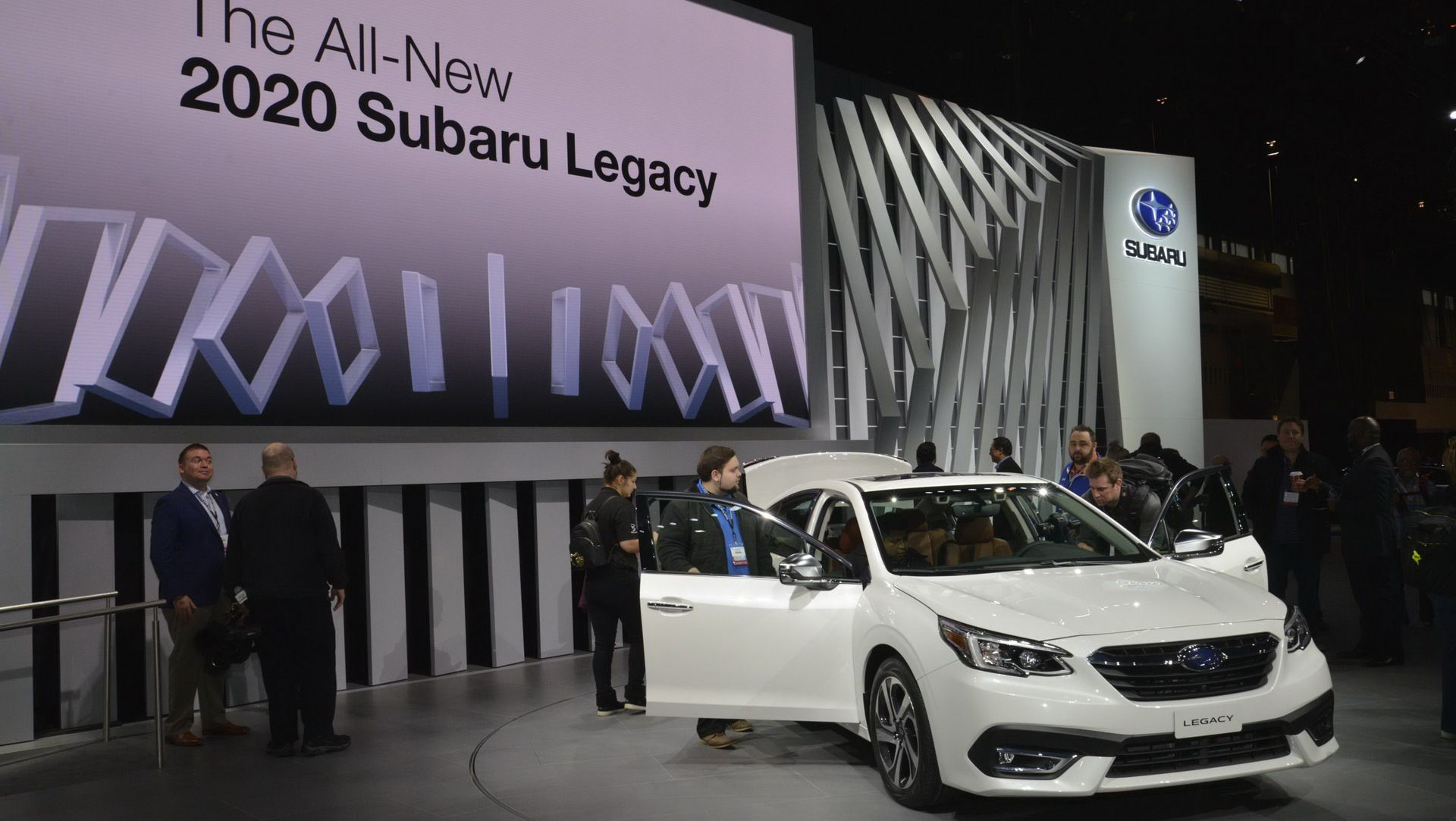 2020 Subaru Legacy Plays It Safe With Styling, Gains 260HP Turbo