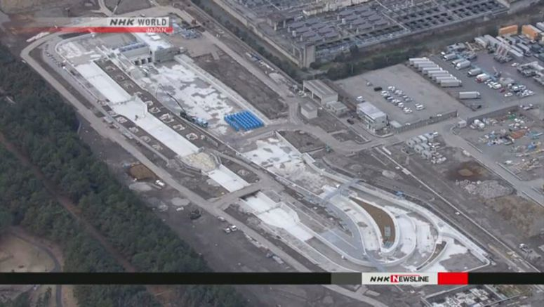 Media shown Olympic venue construction sites