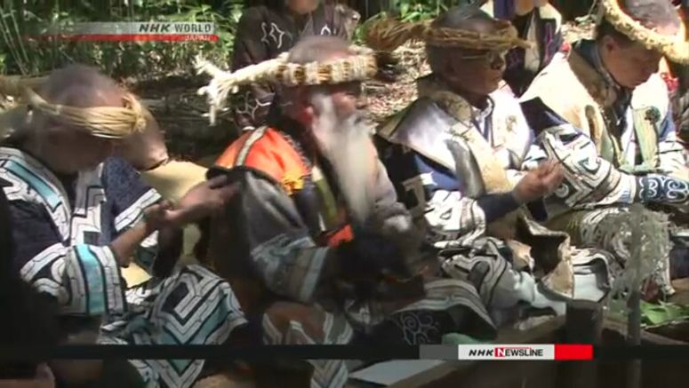 Govt. OKs bill to recognize Ainu as indigenous
