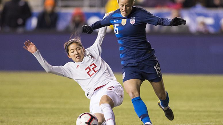SOCCER/ U.S. ties Japan 2-2 in Women's World Cup tuneup