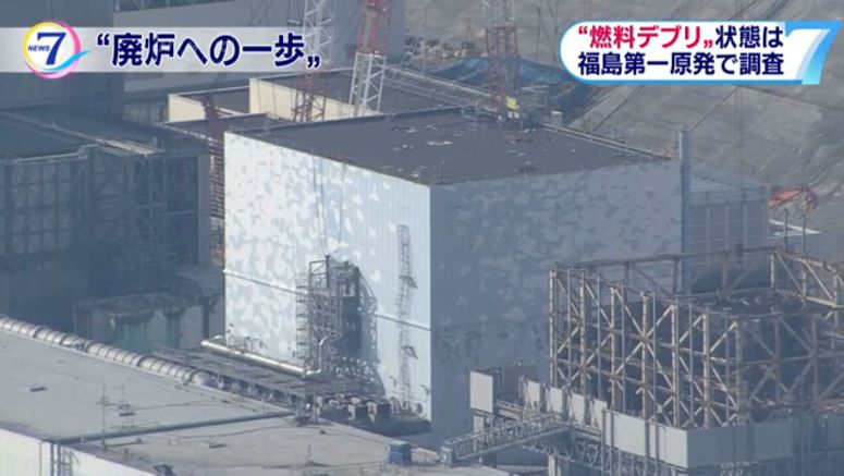 TEPCO: Probe touched suspected fuel debris