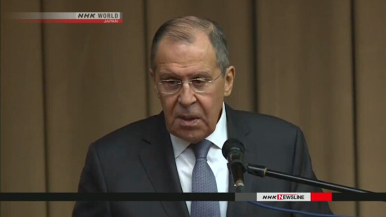 Lavrov urges Japan again to recognize WW2 result