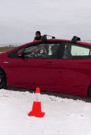 2019 Toyota Prius AWD-e Review: Can It Tackle Snowy Roads?
