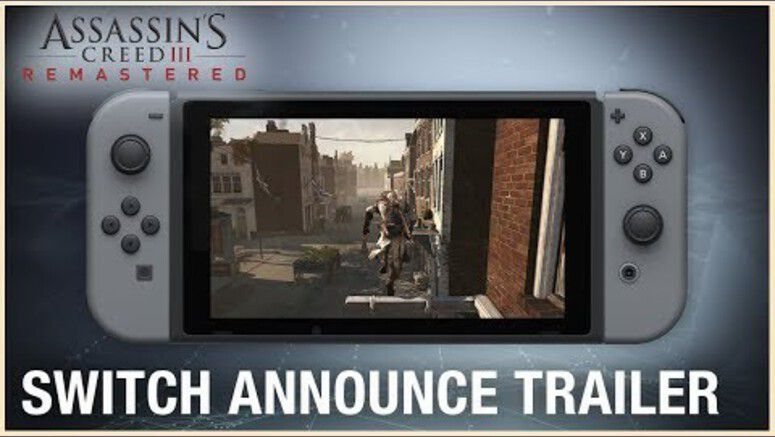 Assassin S Creed Iii Remastered Announced For Nintendo Switch