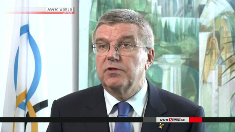 IOC president sends message of support to Ikee
