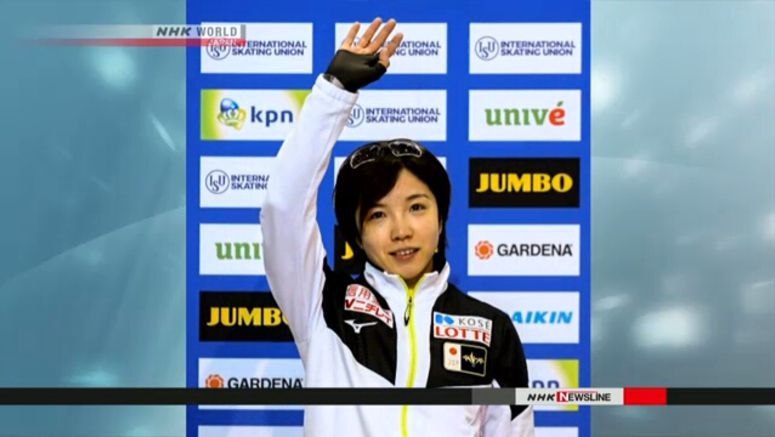 Speed skating: Kodaira wins women's 500