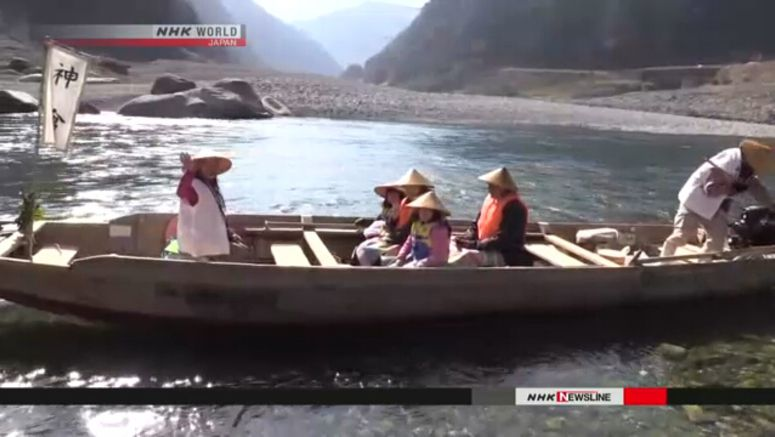 Boating season in Kumano-gawa opens