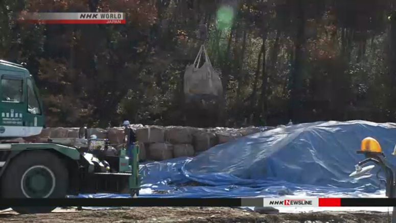 Fukushima tainted soil still looking for home