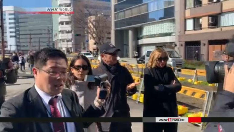 Carlos Ghosn steps out in Tokyo