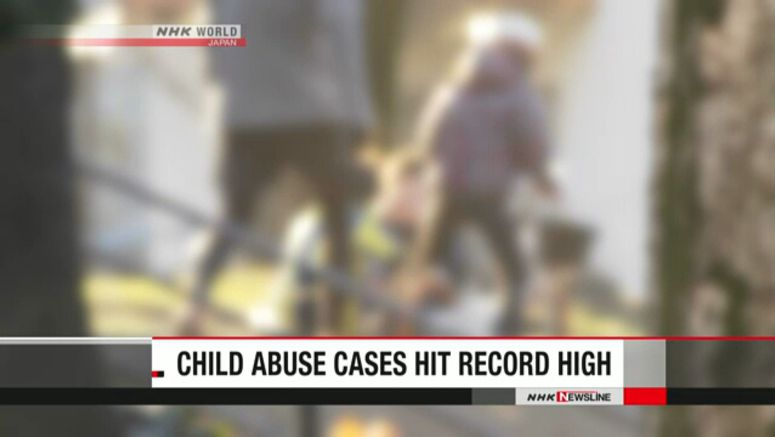 Child abuse cases hit record high in Japan