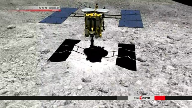 Hayabusa2 to create artificial crater in April