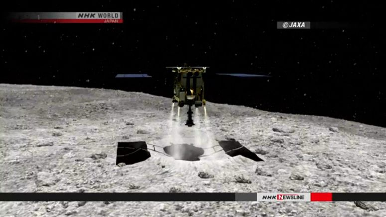 Hayabusa2 to create artificial crater on asteroid