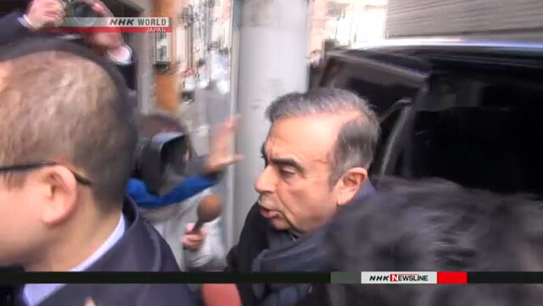 Lawyers: Ghosn considering news conference plan