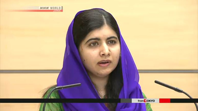 Malala Yousafzai to speak at Tokyo conference