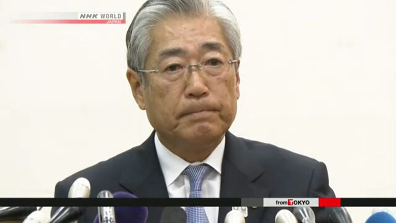 Japanese Olympic Commitee chief Takeda resigns