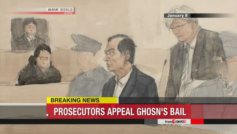 Outline of Ghosn case, legal steps