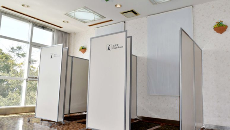 Muslim prayer facilities debut in expressway service areas