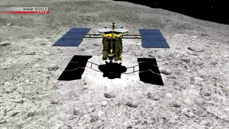 Hayabusa2 begins descent to make artificial crater